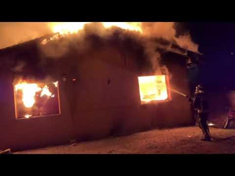 Incendio en Ruiforco de Torío