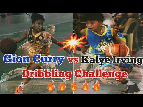 Kalye Irving vs Gion Curry ang Steph Curry ng Novaliches ( Dribbling Challenge )