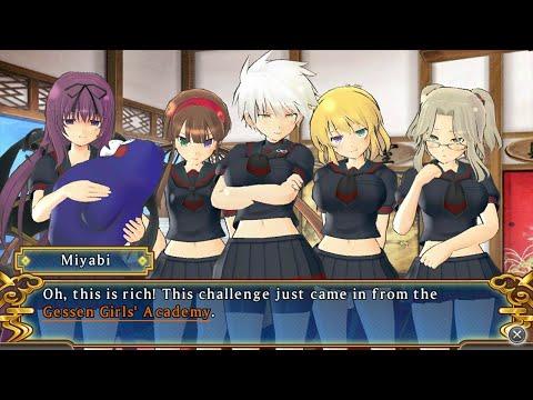 [PS Vita] Senran Kagura Shinovi Versus - Shinobi Girl's Code [Hebijo Academy] - Chapter 3