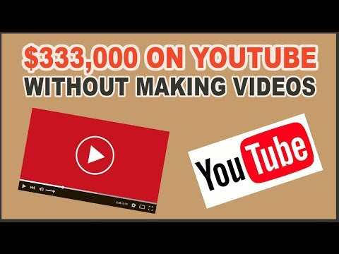 How To Make $333,000 on YouTube Without Making Videos in 2020 (MAKE MONEY ONLINE)
