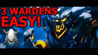 How to EASILY beat 3 Warden Eternals on LEGENDARY SOLO! Halo 5 Campaign Guide (Halo 5 Guardians)