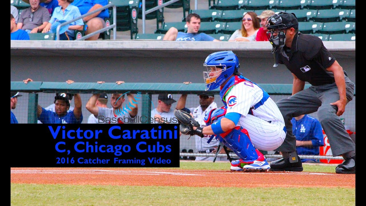 Victor Caratini, C, Chicago Cubs — Catcher Framing Video - YouTube