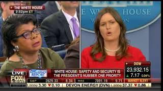 WOW! Sarah Huckabee Sanders SHUTS DOWN Liberal Hack April Ryan