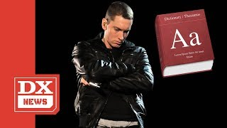 """Eminem's """"Stan"""" Word ly Added To Merriam-Webster Dictionary"""
