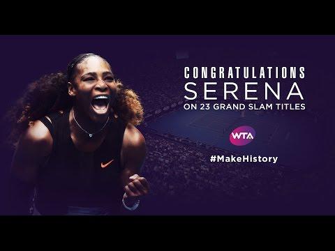 Serena Williams Wins 23rd Grand Slam Title
