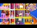 NEW Disney Princess Giant Doll House Sofia The First Magical Royal Castle Prep Academy Toys