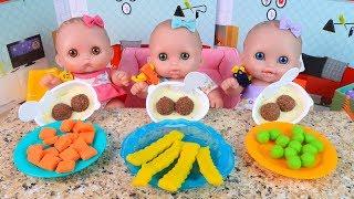 Куклы Пупсики Играют Убирают Кушают Открывают #Киндер Джой Сюрприз Мультик для детей