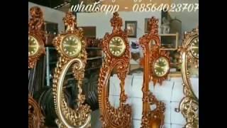 Jam Hias Jati √ Furniture Jepara || 085 640 23 7071 Whatsapp   Phone 082331583274