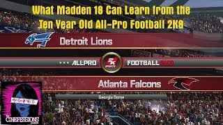 What Madden 18 Can Learn from the Ten Year Old All-Pro Football 2K8