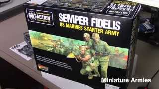 Bolt Action - Semper Fidelis US Marines Starter Army