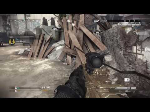 SHAREFACTORY (PS4) - CALL OF DUTY GHOSTS (PS4) - Multiplayer - Me VS AI - Video 1