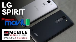 LG Spirit en el Mobile World Congress 2015!