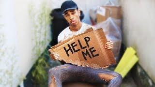 LIVING On £0 For 48 Hours (I went homeless)