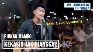 Download KEKASIH TAK DIANGGAP - KERTAS BAND (LIRIK) LIVE AKUSTIK COVER BY TRI SUAKA