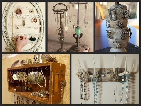 DIY Jewelry Organizer Ideas – DIY Home Organization Ideas