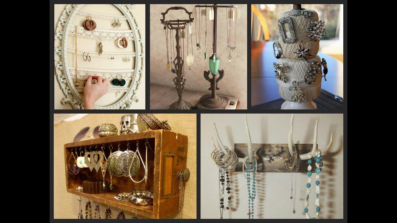 DIY Jewelry Organizer Ideas DIY Home Organization Ideas YouTube