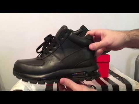 Negra Mandara Youtube Nike Boots Air Piel Botas Acg Negro wkPiXuTOZl