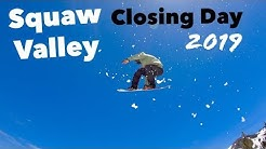 Squaw Valley Parks Closing Day 2019!!