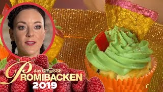 Avocado Cupcakes: Blümchens gesunde Alternative | Aufgabe | Das große Promibacken 2019 | SAT.1 TV