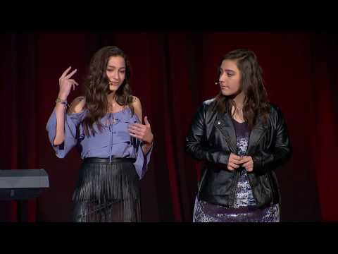 You Don't Get to Make Me Happy   Carly and Martina Spiro   TEDxIIT