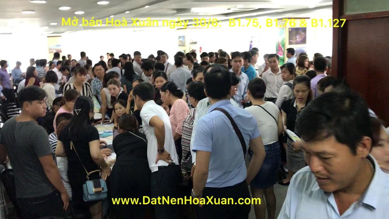 Ngày 30/6, Sàn BDS Sunland mở bán khu Hoà Xuân mở rộng B1.75, B1.76 và B1.127.