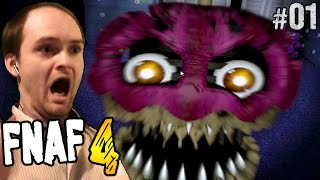 - Five Nights at Freddy s 4 Прохождение  FNAF 4  Часть 1