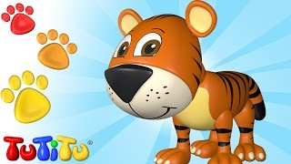 Repeat youtube video TuTiTu Animal Toys   Animal Toys for Children   Tiger and More!