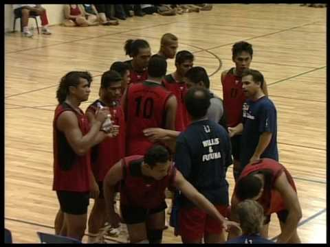 South Pacific Games 2007 Volleyball Wallis and Futuna vs New Caledonia SF