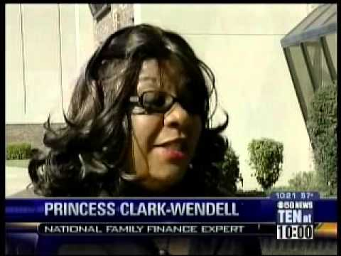 Annie Jennings TV Publicity Client, Princess Clark on CBS Milwaukee