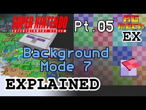 SNES Background Mode 7 - Super Nintendo Entertainment System Features Pt. 05