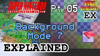 SNES Background Mode 7 - Super Nintendo Entertainment System Features Pt. 05