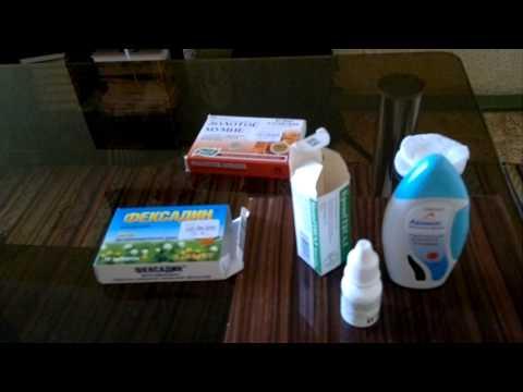 Капли и спреи в нос лечебные: виды и правила применения