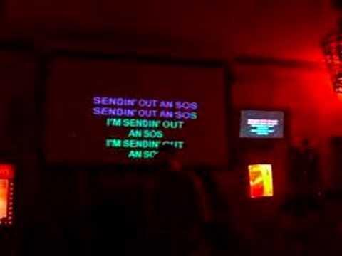 Manny the portuguese karaoke