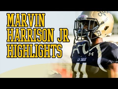 MARVIN HARRISON JR is JUST LIKE HIS DAD!! Class of 2020