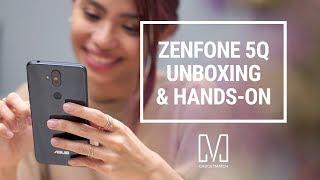 ASUS Zenfone 5Q Unboxing & Hands-On (Zenfone 5 Lite/Zenfone 5 Selfie)