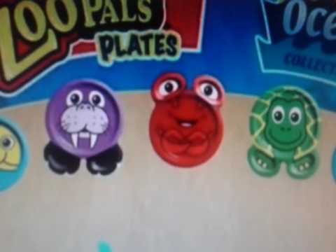 Hefty Zoo Pals Plates Effects Youtube