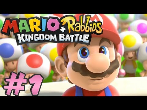 Mario + Rabbids Kingdom Battle: Playthrough #1 | World 1: Ancient Gardens / Welcome to the Jungle