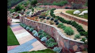 Unique Hillside Landscaping Design Ideas, Stylish Hillside Landscaping Design Ideas #2
