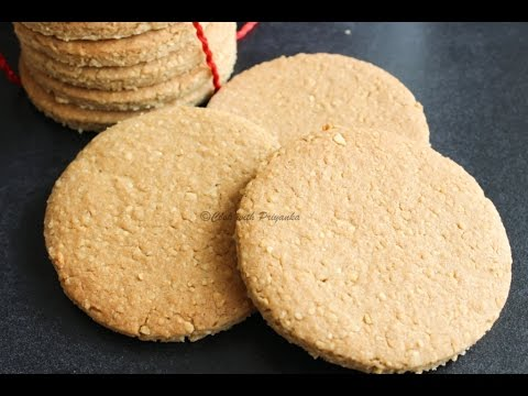 How to make Home made Digestive Biscuits/Graham crackers ...