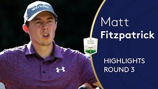 Matt Fitzpatrick Highlights   Round 3   2019 Italian Open