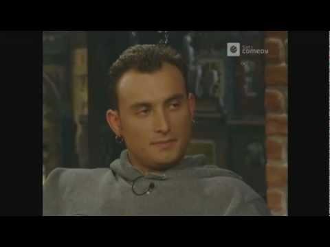 Big Brother Zlatko in der Harald Schmidt Show 14042000
