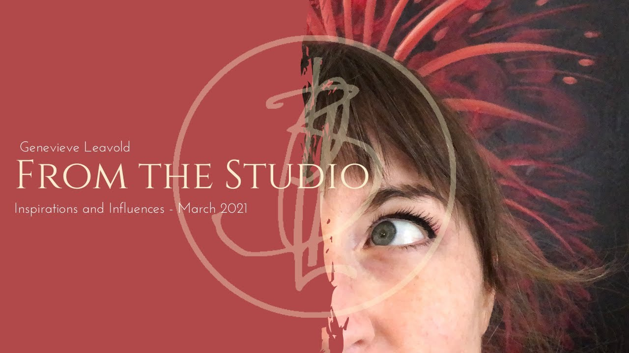 From the studio - Talking about my inspirations and life as an artist