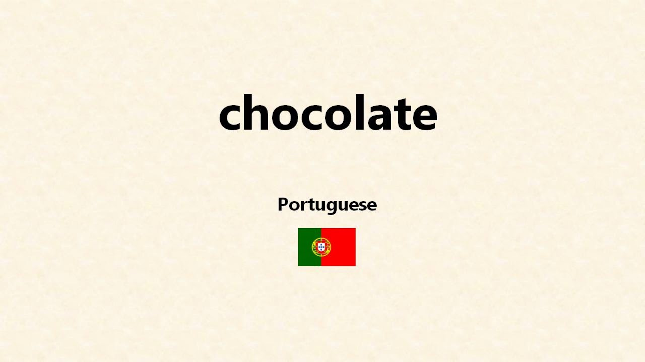 How to write chocolate in different languages university proofreading website us