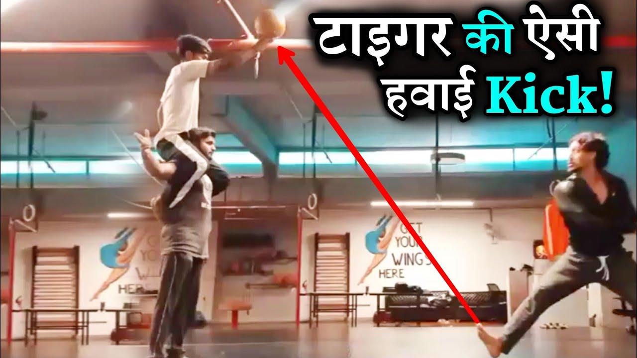 Download Tiger Shroff 10 To 12 Feet Up Risky Hyper Flying Kick