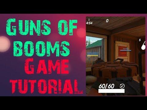 Gun of booms game tutorial thumbnail
