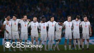 England soccer players racially abused after defeat to Italy in final