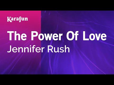 Karaoke The Power Of Love - Jennifer Rush *