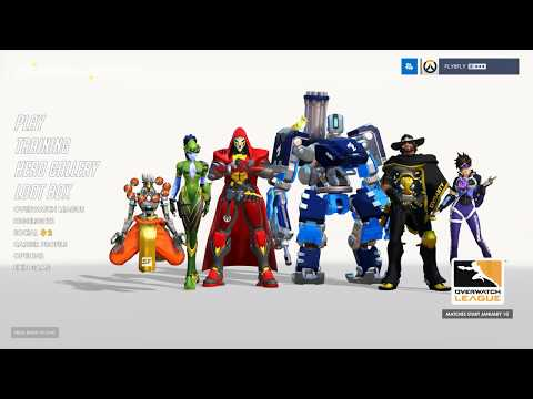 All Overwatch League Skins Preview