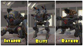 War Robots- New Robots! Rayker/Invader/Blitz Test Server 4.2