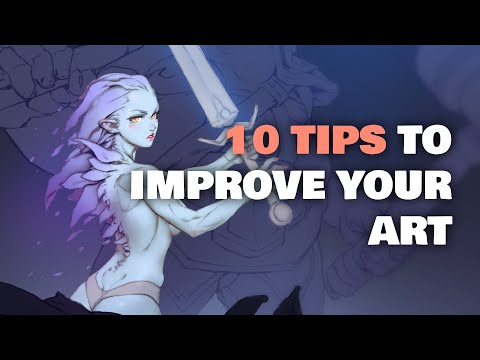 HERE'S THE FASTEST WAY TO IMPROVE YOUR ART (from A Professional Artist)